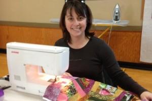 at a WSQ Sewing Saturday
