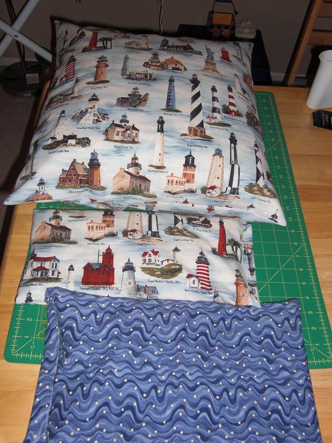 lighthouse pillows