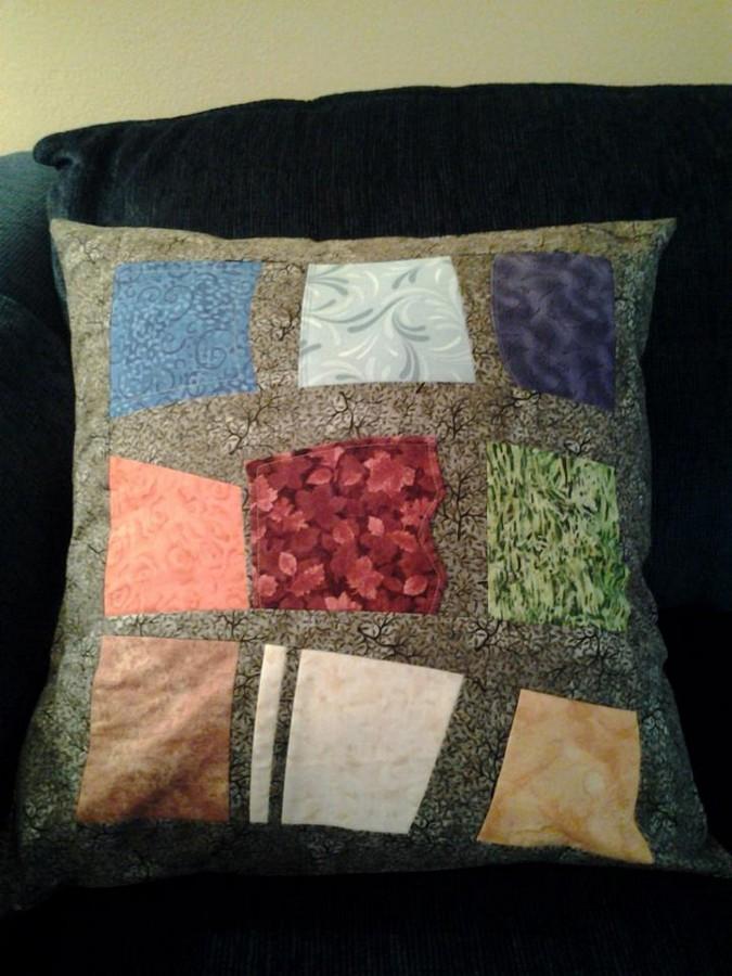 sudoku pillow