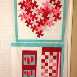Finished pieced front and improvisational back