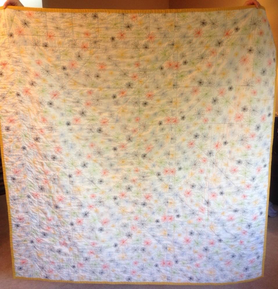 back of Imogen's quilt