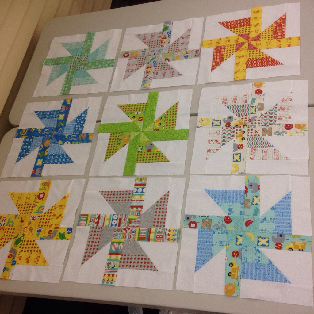 example 1 I's quilt