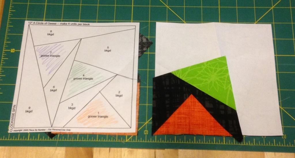 paper piecing BOM