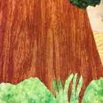 tree detail stitching