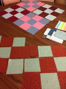 Charity Quilt in process