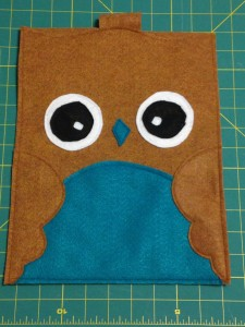owl ipad cover