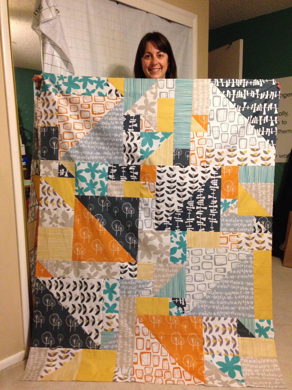 Lauren's quilt done