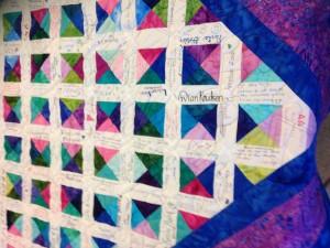 choir quilt