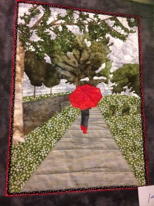 art quilt umbrella