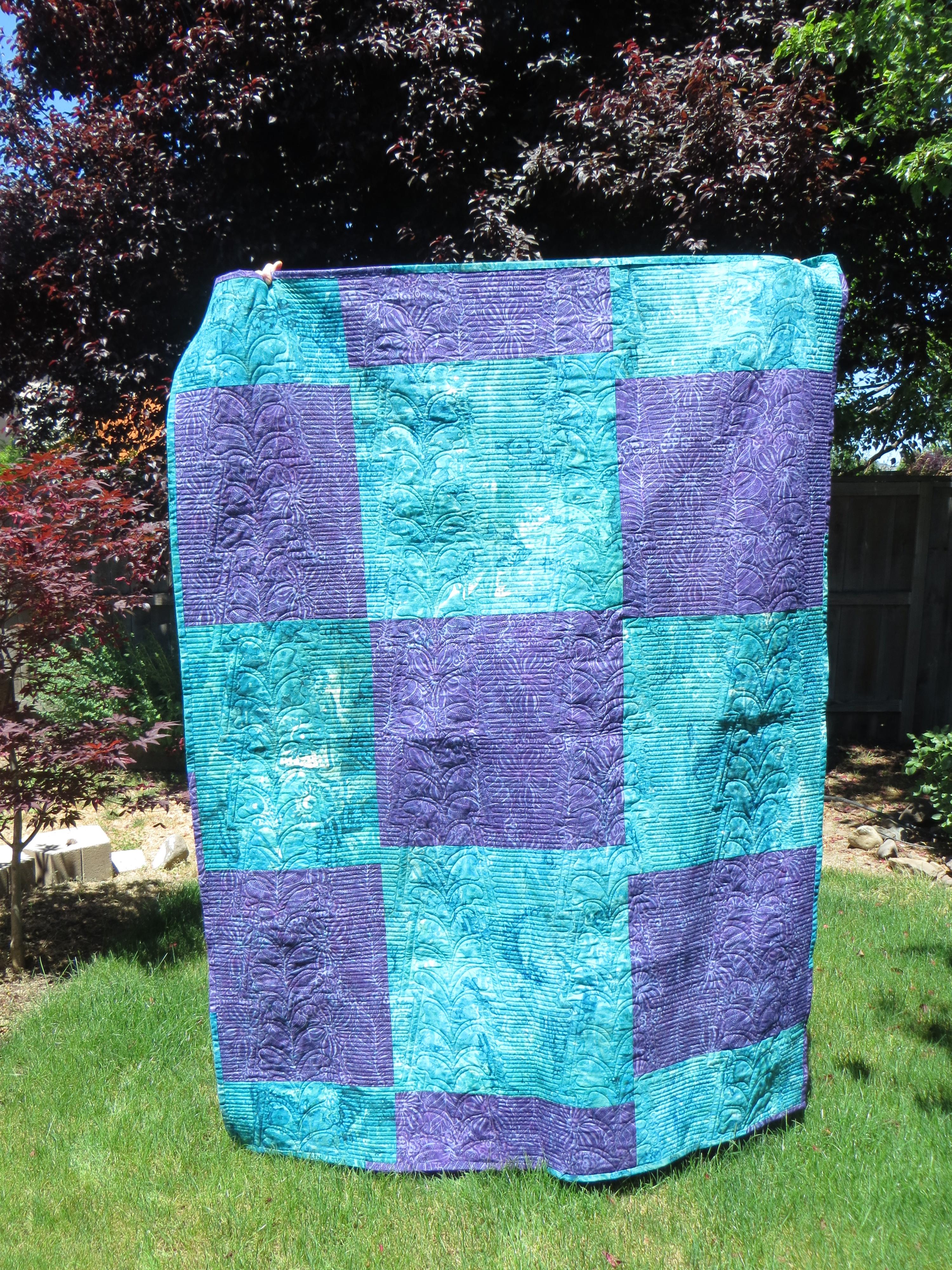 back Katie's quilt
