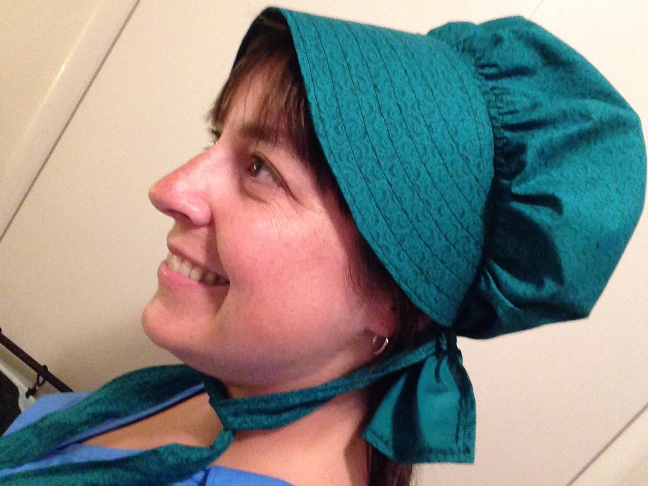 green bonnet