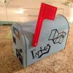 mailbox for bday cards